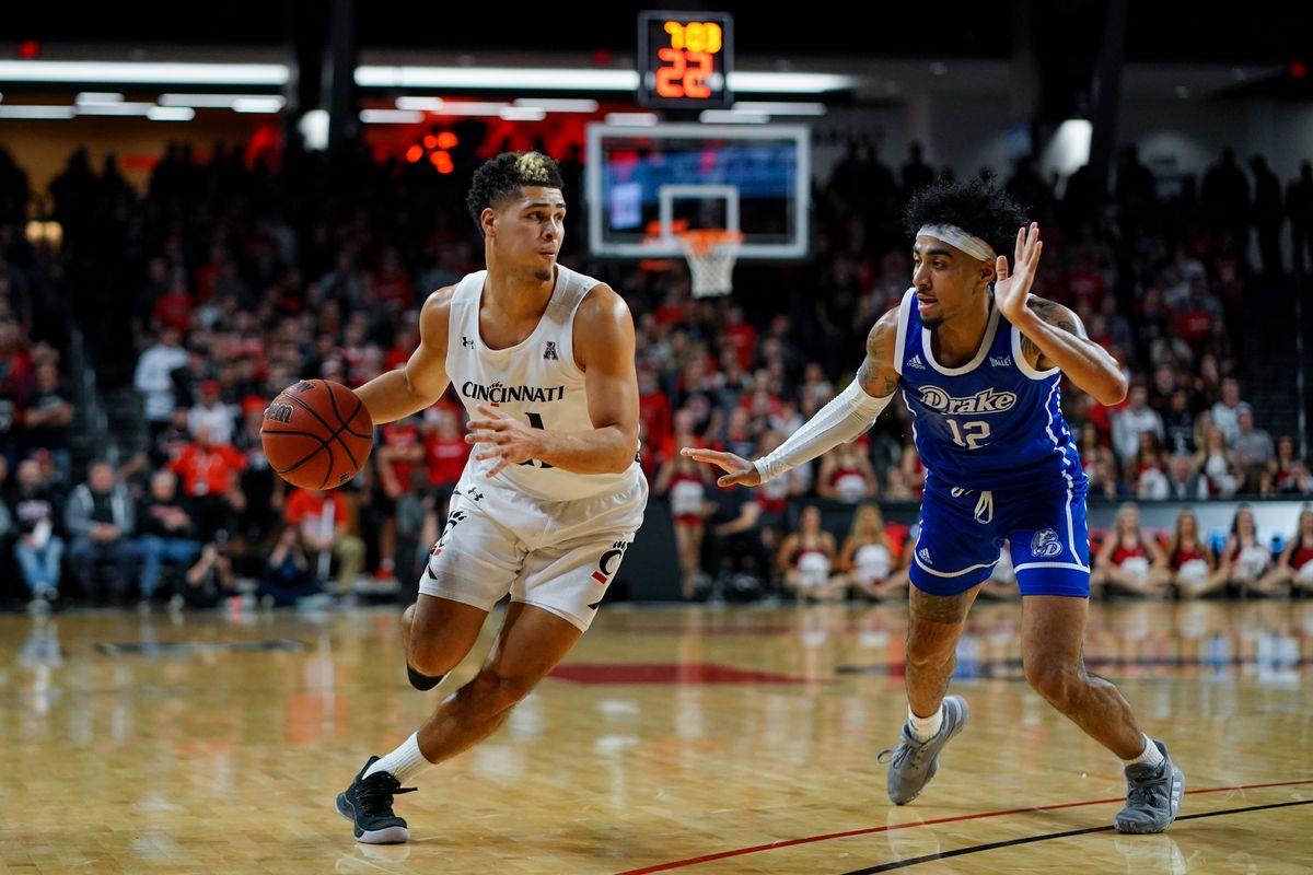 NCAA Basketball: Drake at Cincinnati