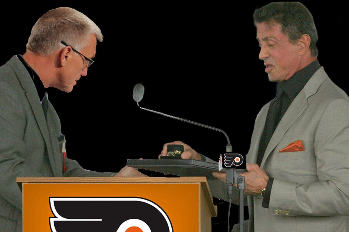 Holmgren hands Stallone the keys to the franchise