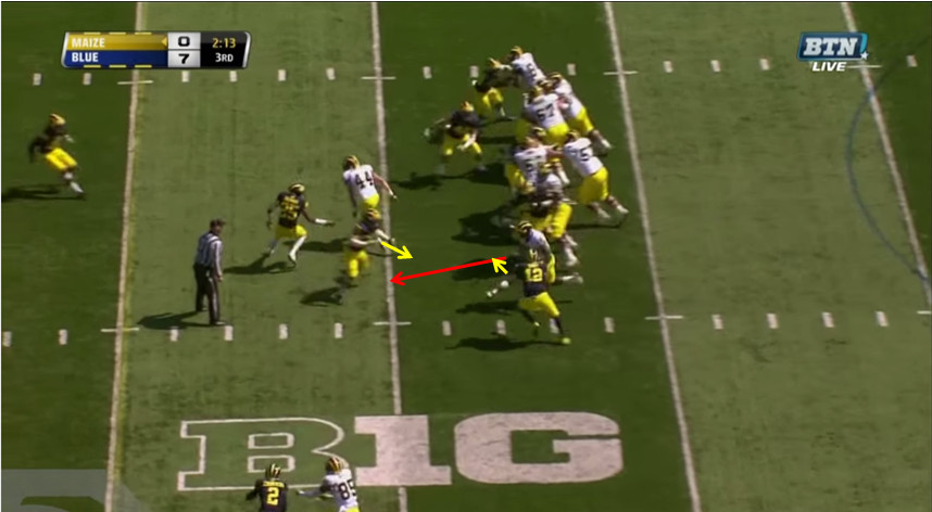 Smith Inside Zone for 8 - 4