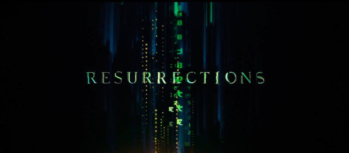The Matrix Resurrections logo