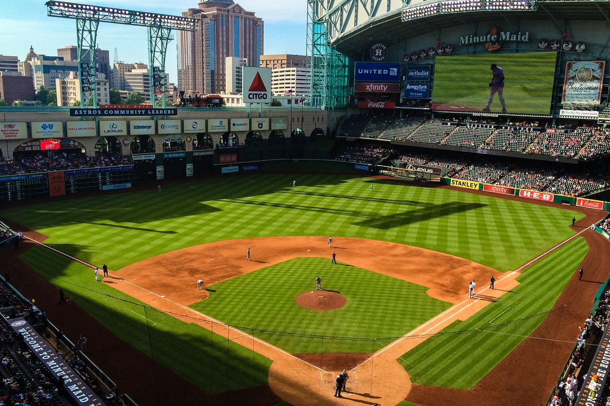 Astros Stadium >> What To Eat At Minute Maid Park Home Of The Astros Eater