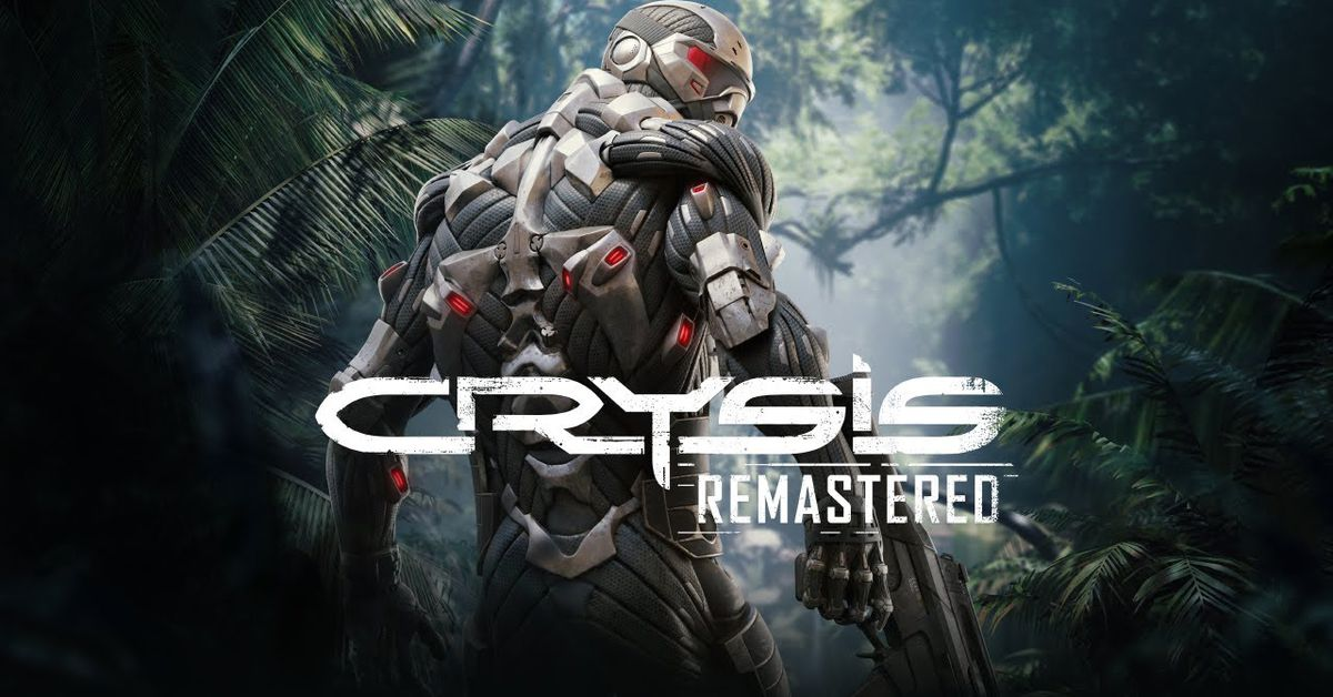 Fans Are Upset With Crysis Remastered S Graphics So Crytek Is Delaying The Game The Verge