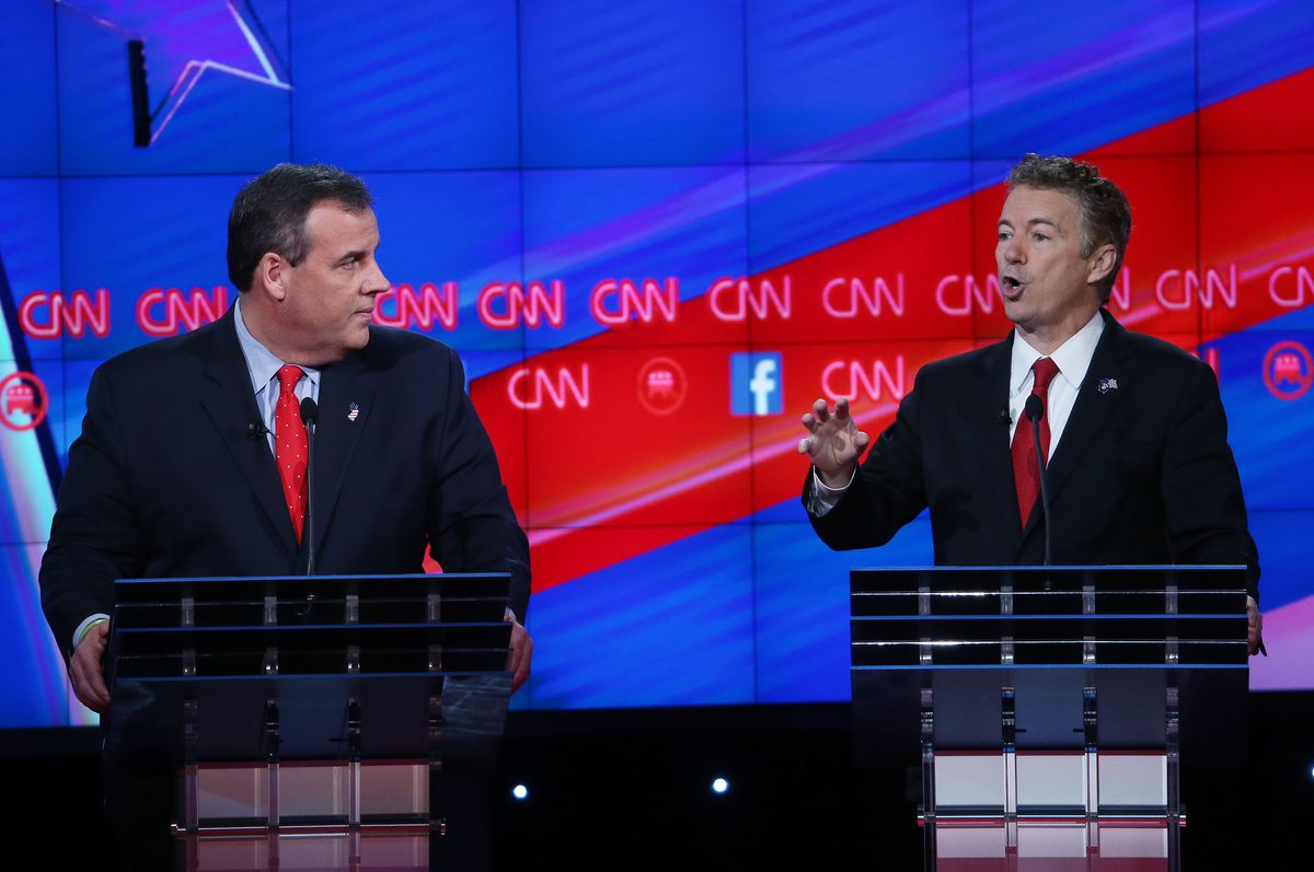 chris christie and rand paul