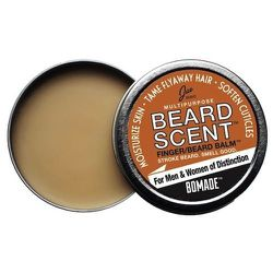 """Besides scenting your beard this balm also tames flyways and can help soften your cuticles. <strong>Jao</strong> Beard Scent, <a href=""""http://www.newlondonpharmacy.com/categories/12-creamsmoisturizers/products/7710-jao_multipurpose_beard_scent_balm"""">$28</"""
