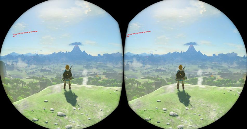 Breath of the Wild in VR is an ugly, uncomfortable experience