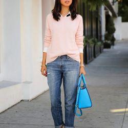 "Annabelle of <a href=""http://vivaluxury.blogspot.com""target=""_blank"">Viva Luxury</a> is wearing an ASOS sweater, <a href=""http://www.gap.com/browse/product.do?pid=928917002&tid=goaff4441350&ap=2&siteID=goafcid150""target=""_blank"">GAP</a> jeans, Wanterlust"