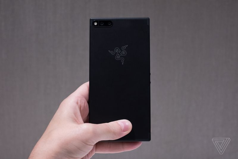 Razer Phone. Image: Vlad Savov / The Verge