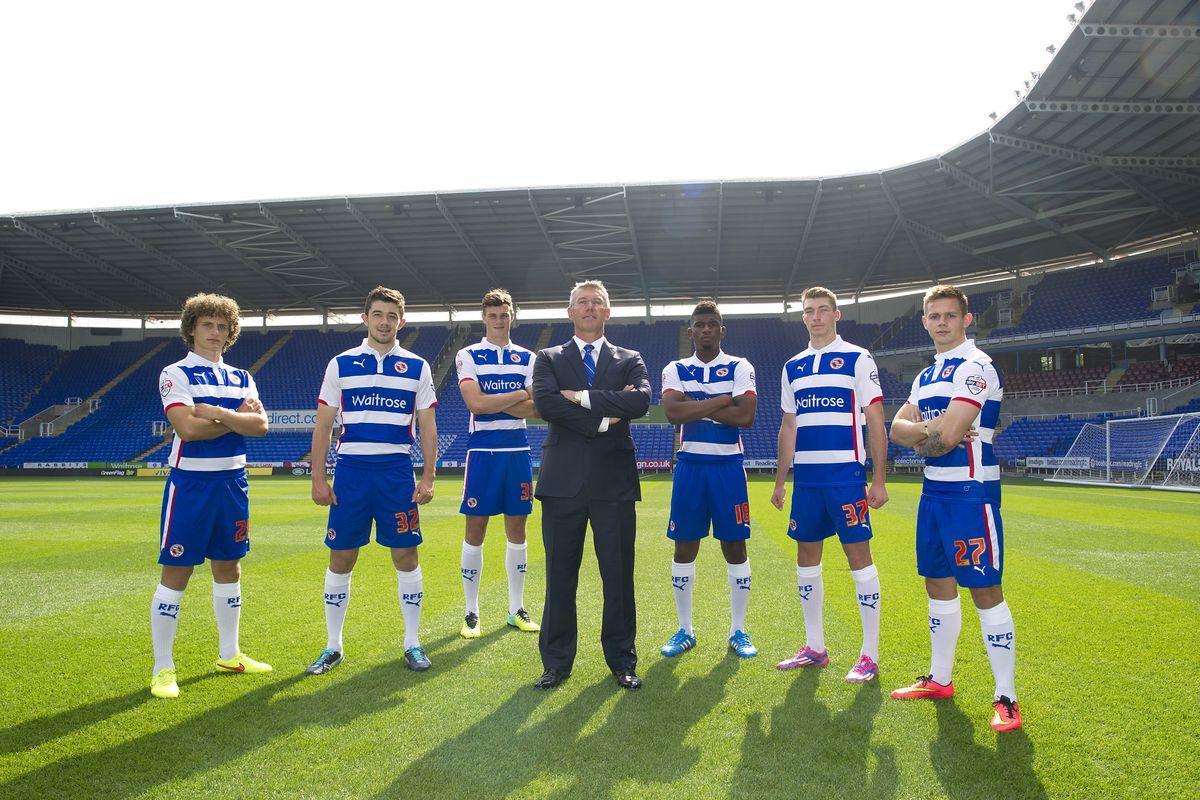 Soccer - Sky Bet Championship - Reading Photocall 2014/15 - Madejski Stadium