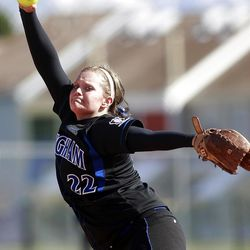 Bingham junior pitcher Paige Reimann has the Miners on top of 5A after being voted behind Syracuse in preseason rankings.