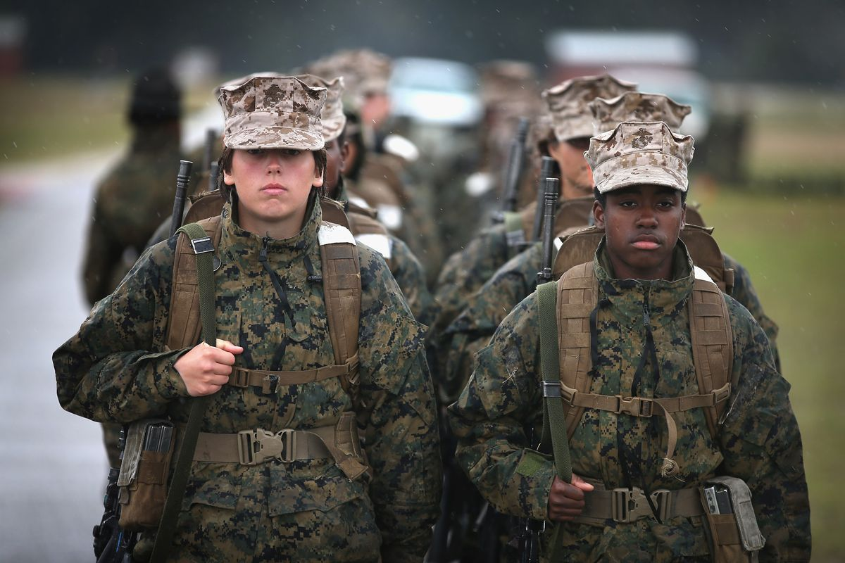 Men in the marines