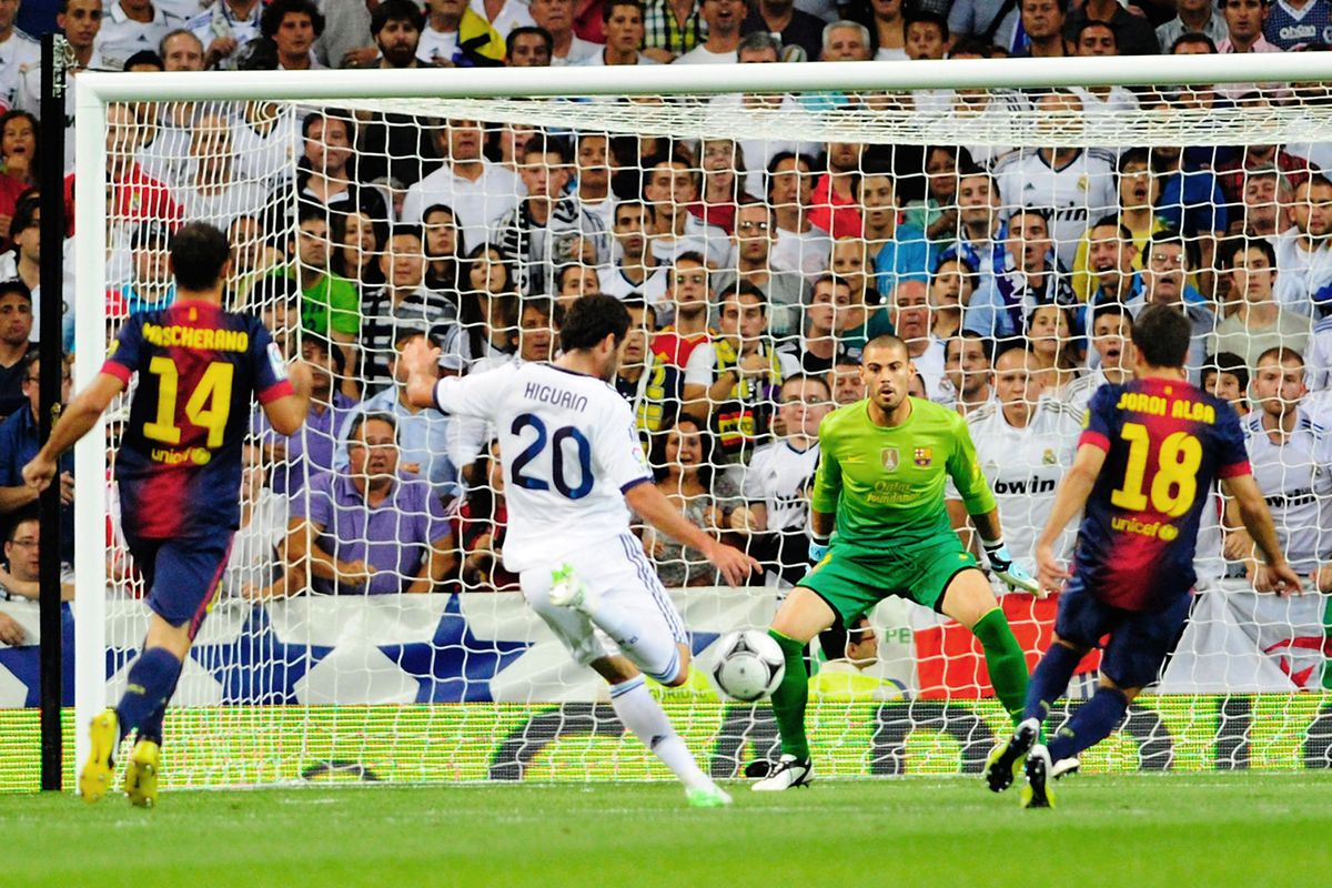 The goal that sent Real Madrid on the way to their third trophy under Jose Mourinho...