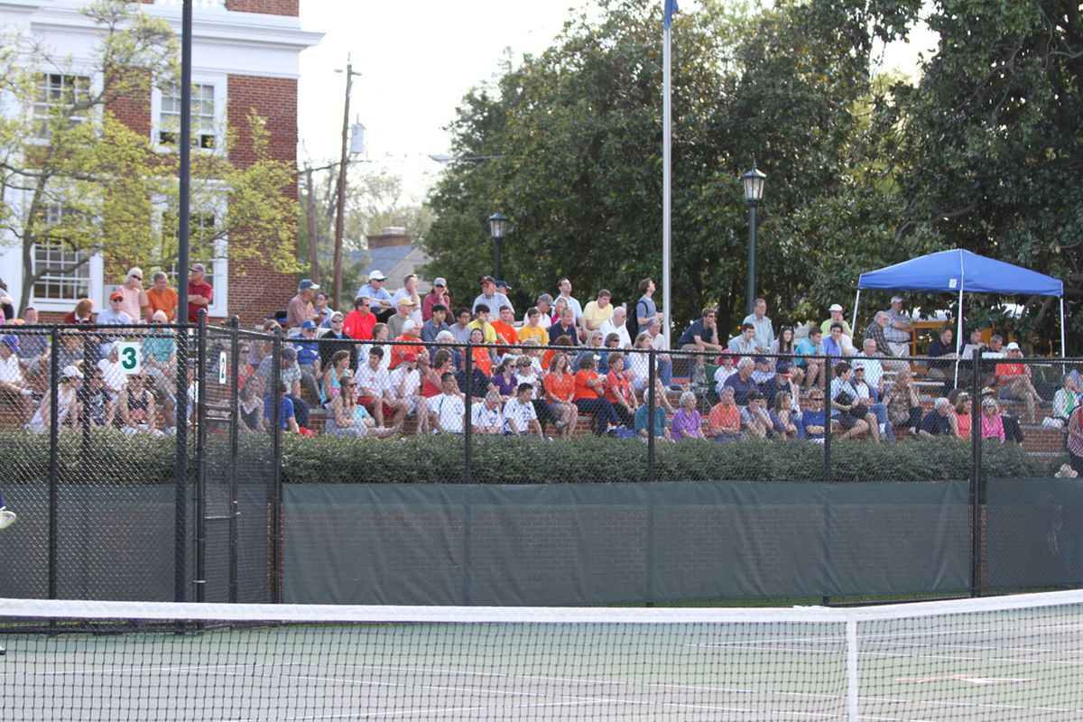 Photos From Tennis's 100th Consecutive ACC Victory