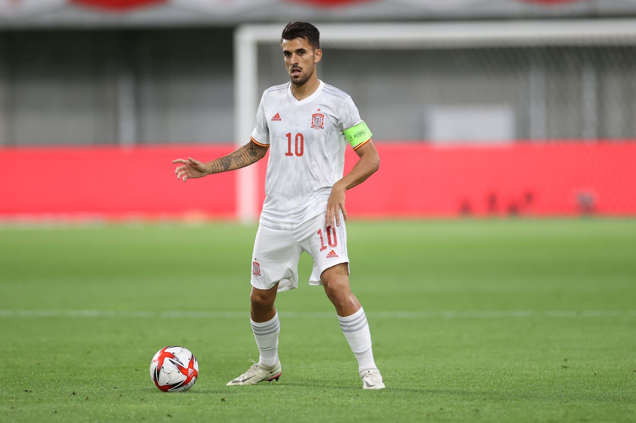 Dani Ceballos a stand out before injury in Spain?s 0-0 draw with Egypt, 2021 Olympics