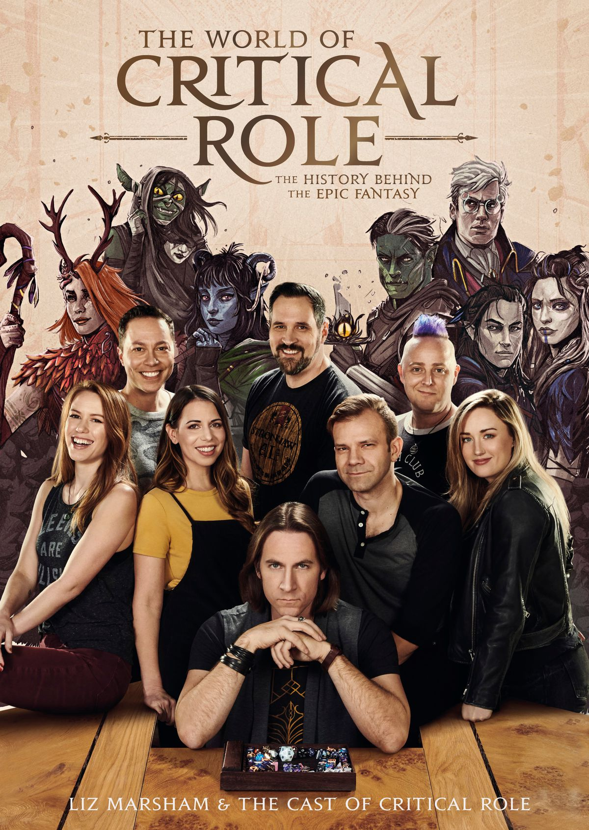 The World of Critical Role book cover