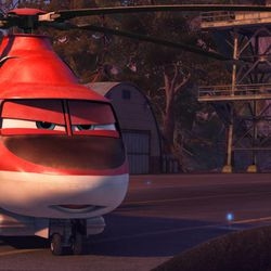 """Blade Ranger is part of the firefighting aircraft team in """"Planes: Fire & Rescue."""""""