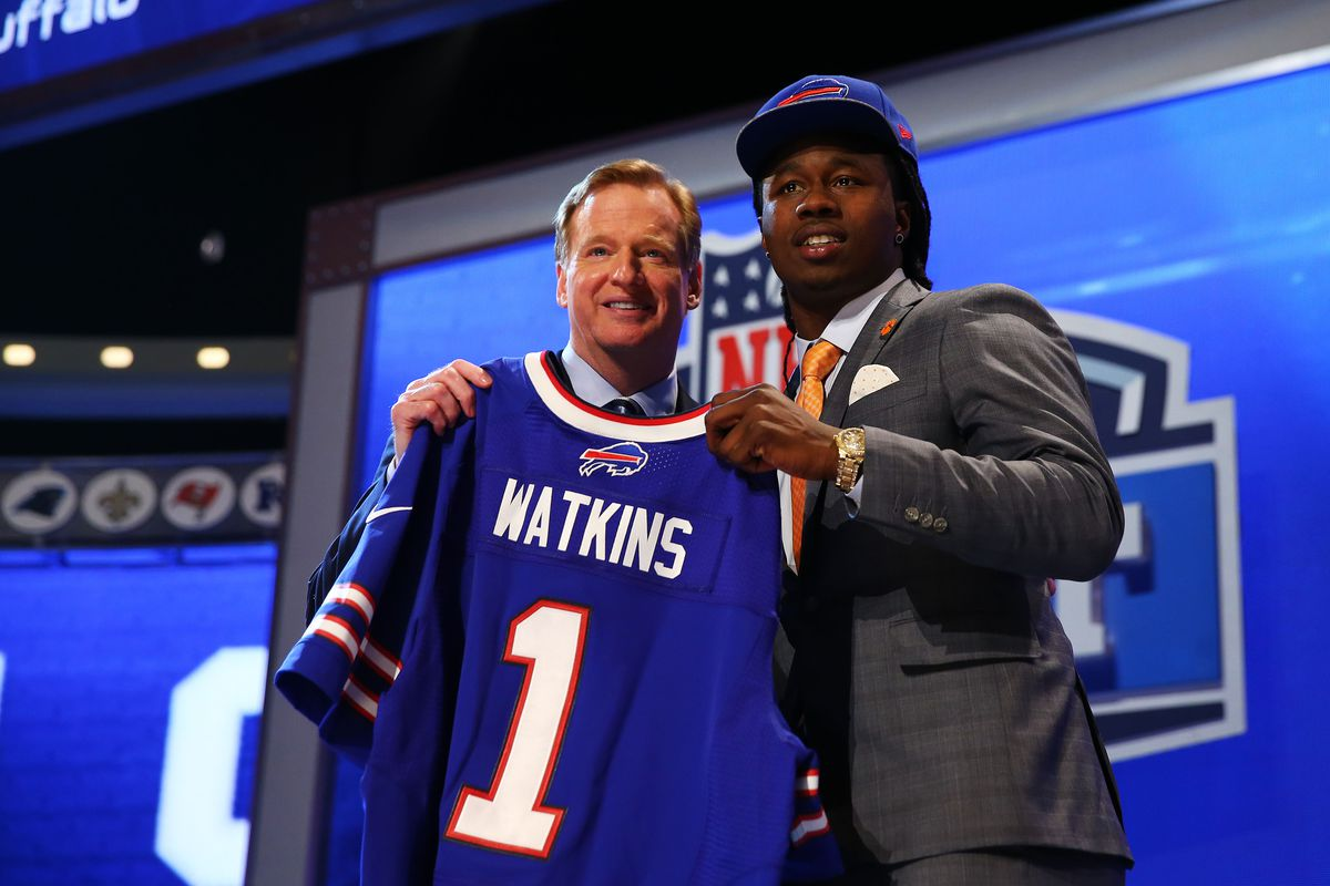 Trading up for Sammy Watkins was not a good idea for the Bills.