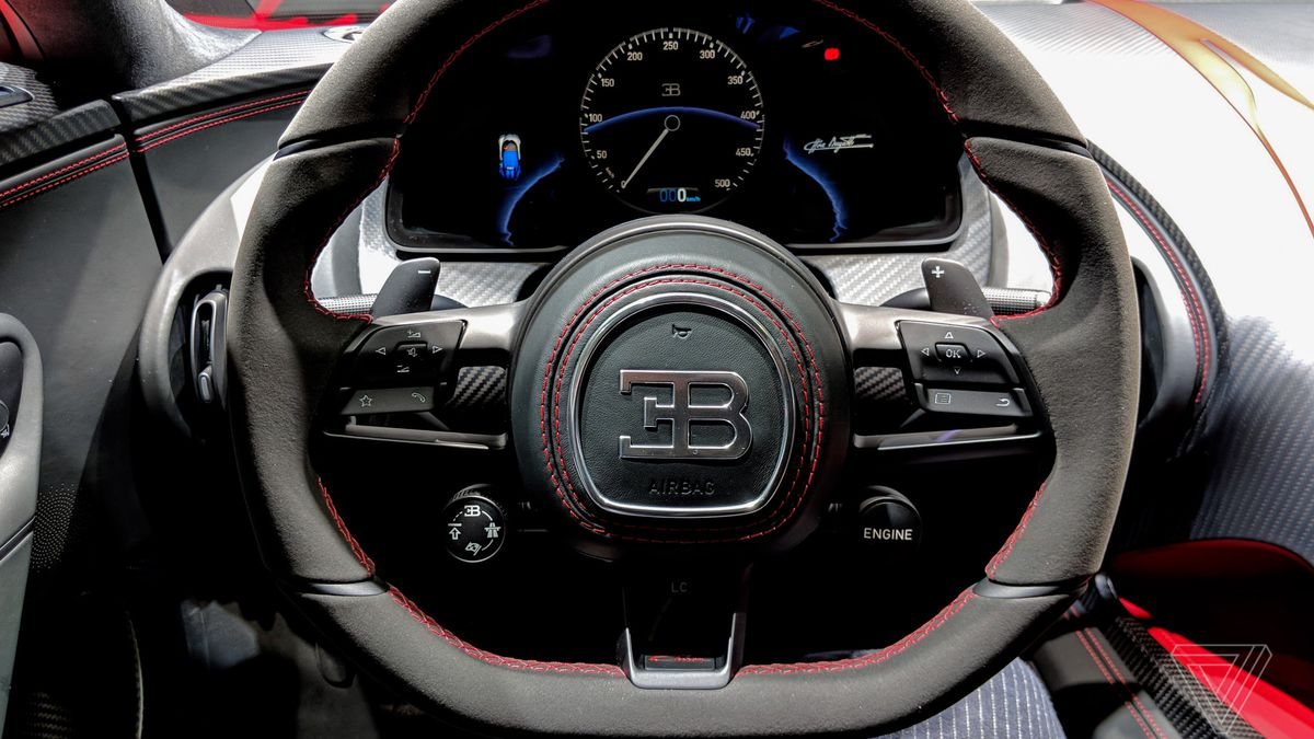 Sitting Inside Bugatti S New 3m Chiron Didn T Make Me A Better