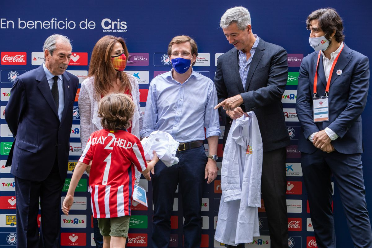 Football Charity Match With Spanish Celebrities