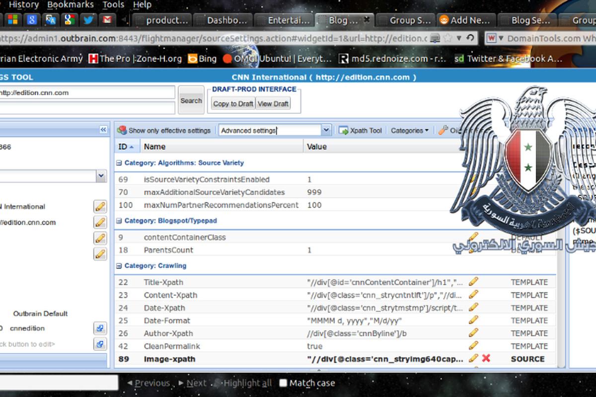 Syrian Electronic Army screenshot