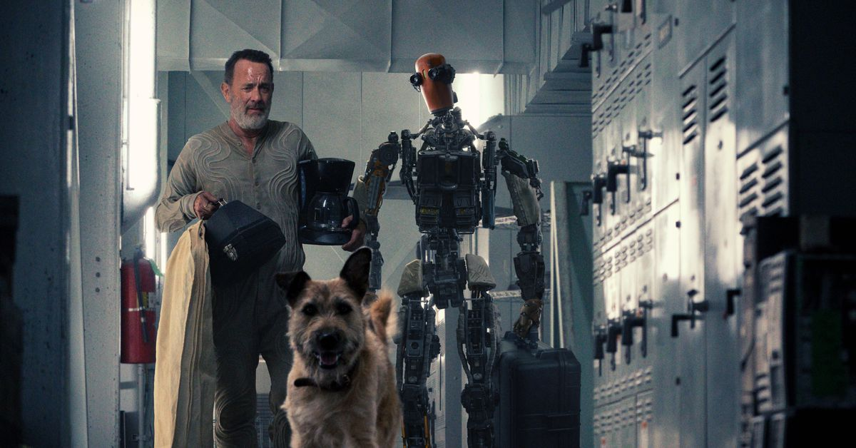 Apple's apocalyptic movie Finch stars Tom Hanks, a robot and a really nice guy