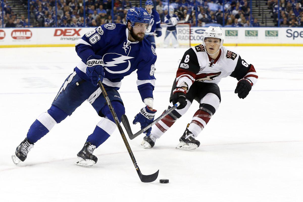 NHL: Arizona Coyotes at Tampa Bay Lightning