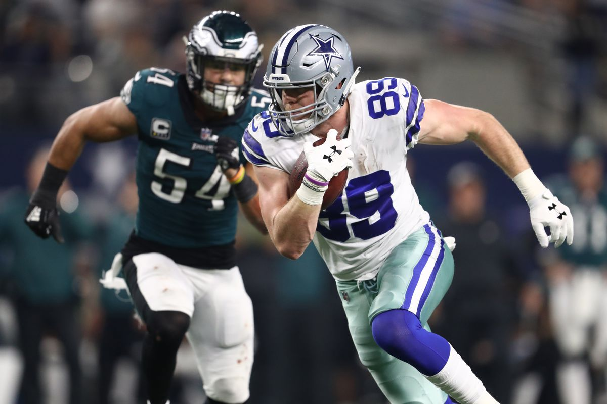 0ee7fe5e7b8 Will Blake Jarwin be a legit weapon for the Cowboys offense in the playoffs?