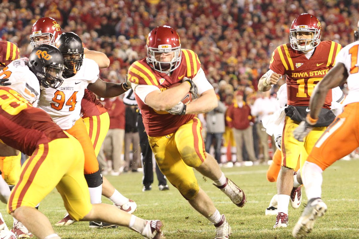 Oklahoma State Vs Iowa State The 2011 Td That Killed The