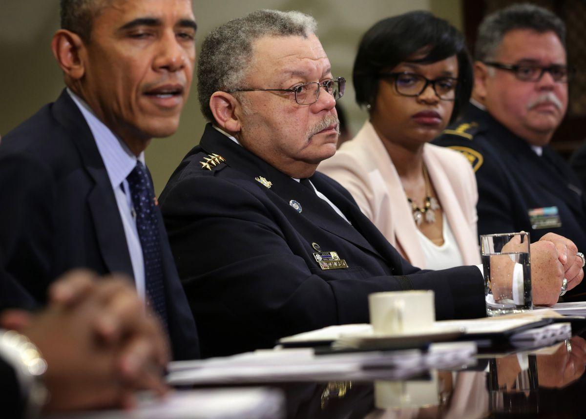 Charles Ramsey and Barack Obama