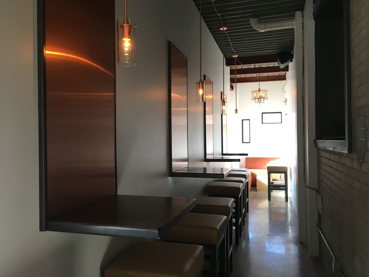 copper, couches, chairs, tables