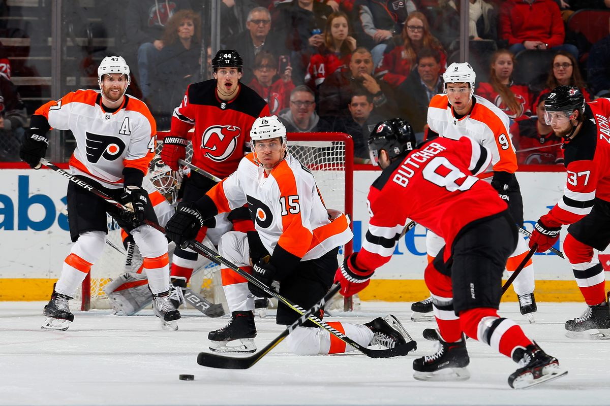 Game Preview New Jersey Devils Versus The Philadelphia Flyers All
