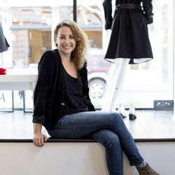 Carole Harari, happy proprietress