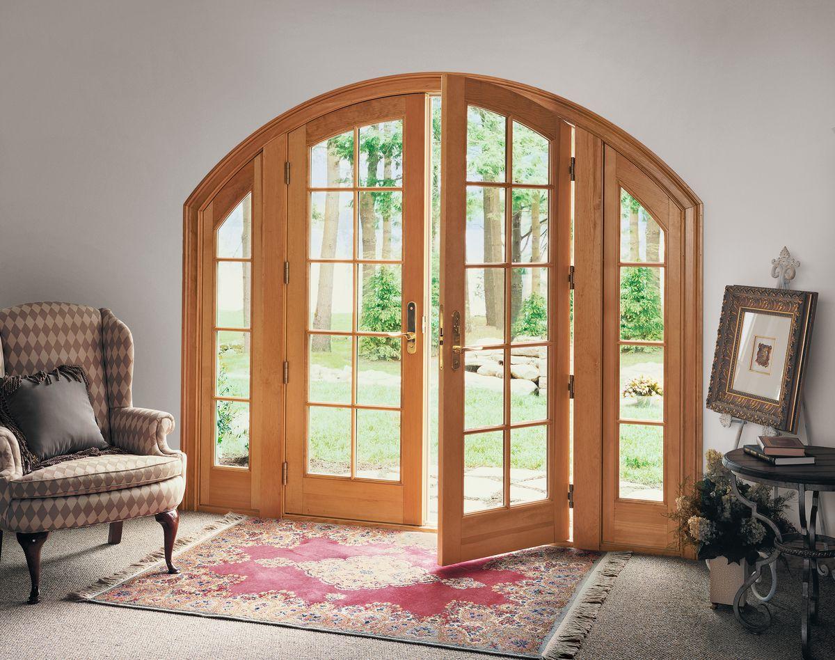 Double In-Swinging Exterior French Doors