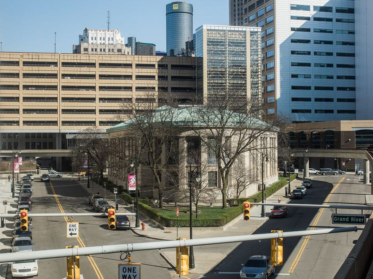 The Skillman Library Branch downtown