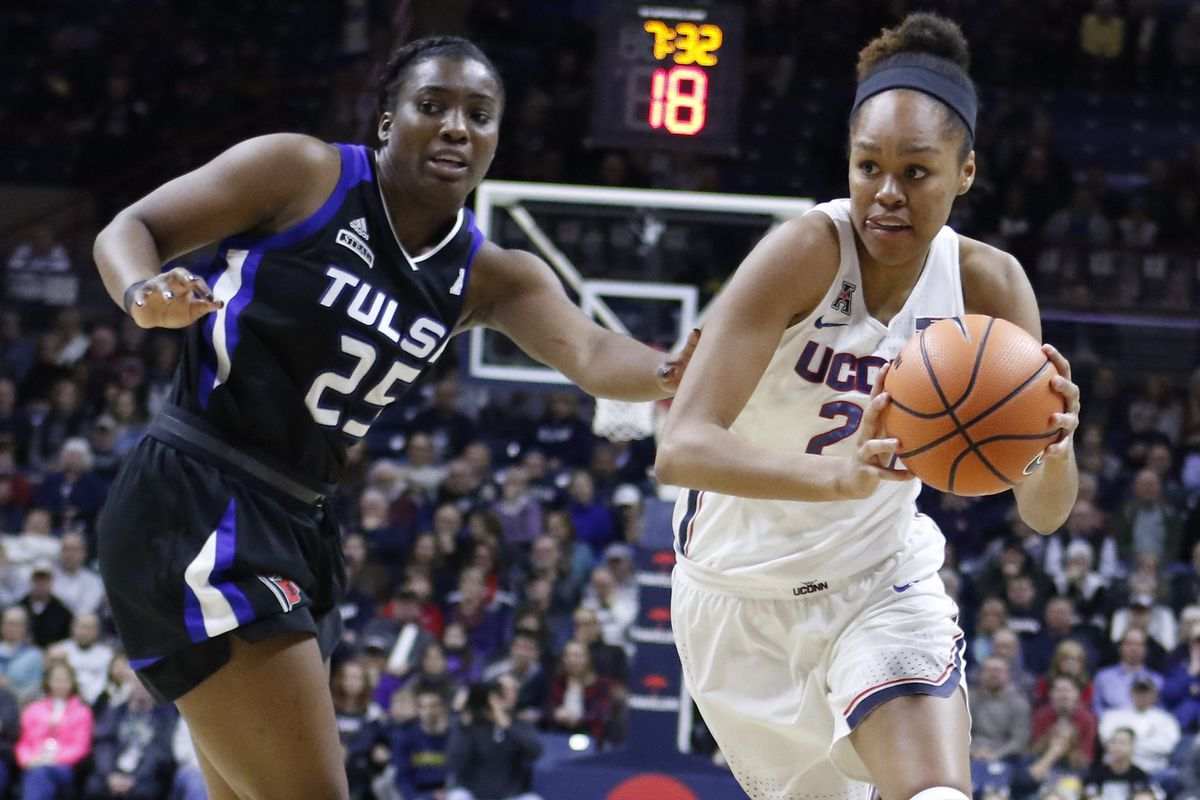 watch uconn women s basketball players postgame tulsa 1 18 18 the uconn blog. Black Bedroom Furniture Sets. Home Design Ideas