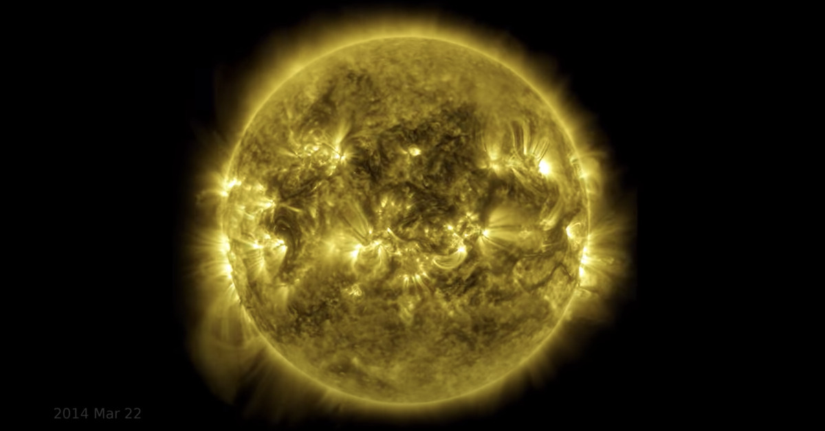 Watch: NASA releases 10-year time-lapse of the Sun - Deseret News