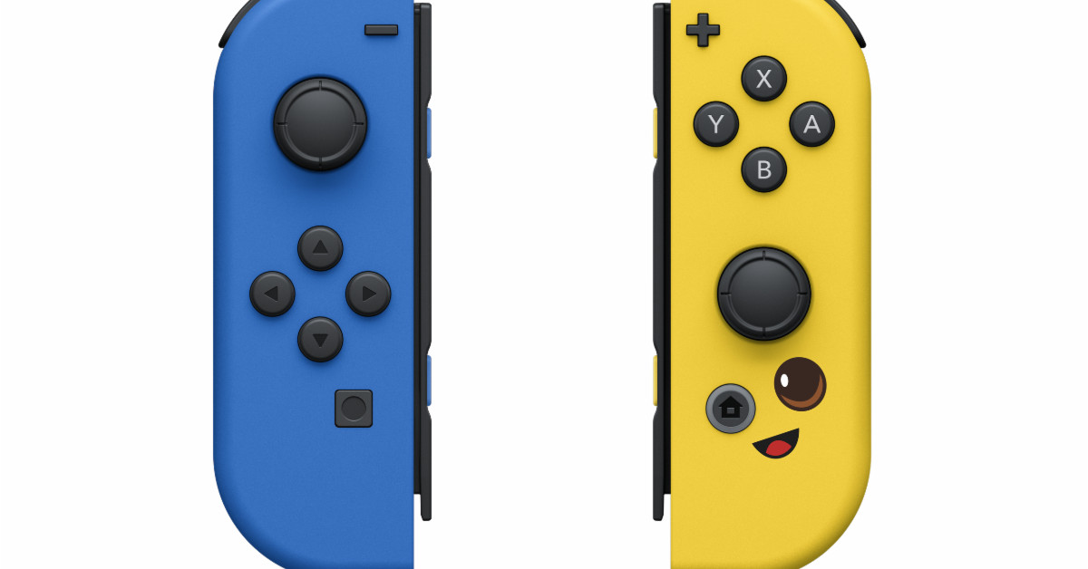 Fortnite Fleet Force bundle includes Peely-themed Joy-Cons for your Nintendo Switch