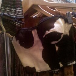 The cow bustier.