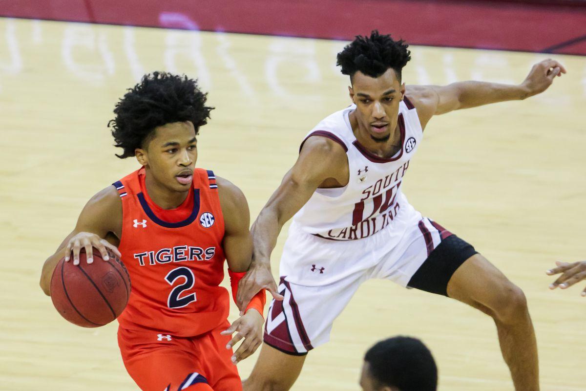 NCAA Basketball: Auburn at South Carolina