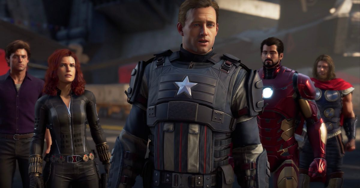 The Marvel's Avengers characters won't be changed in the video game.