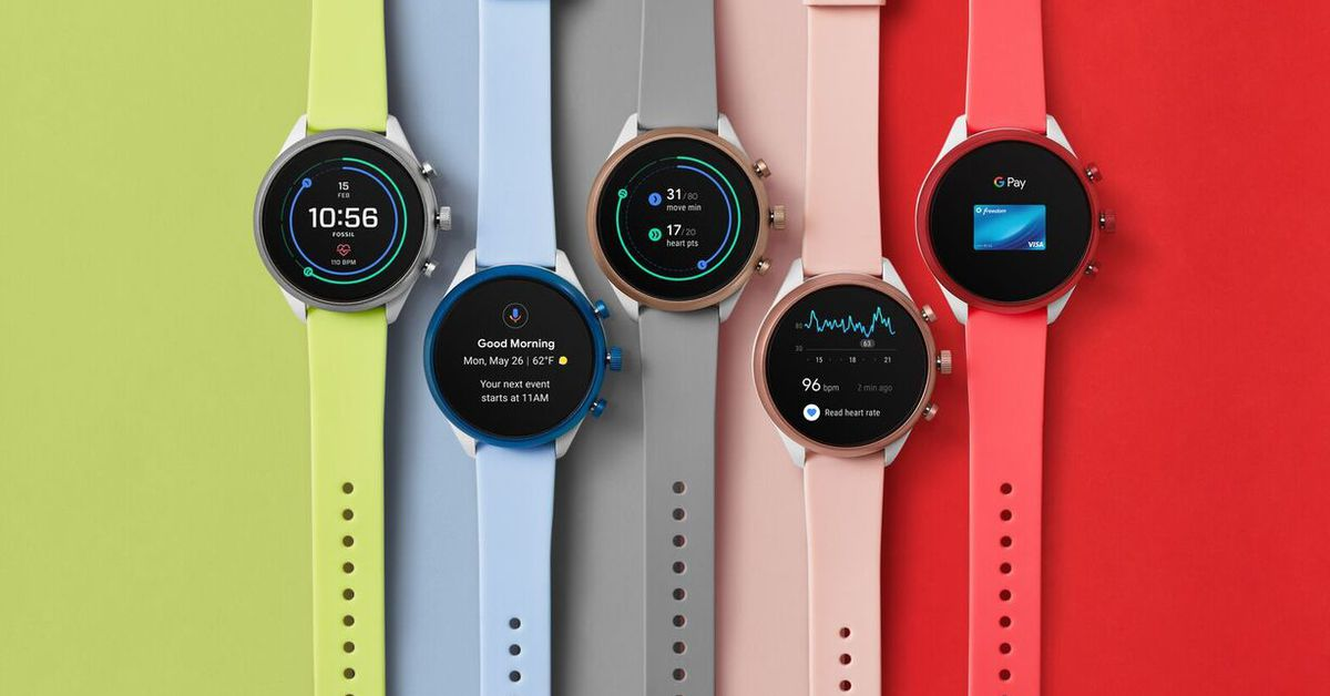 Fossil Sport Smartwatch debuts with new Wear 3100 chip and Wear OS