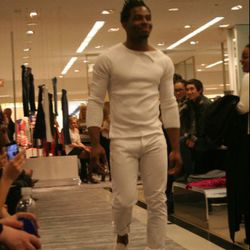 Rich February in the Cheeky Chicago Spring Fashion Show at Bloomingdale's Michigan Avenue