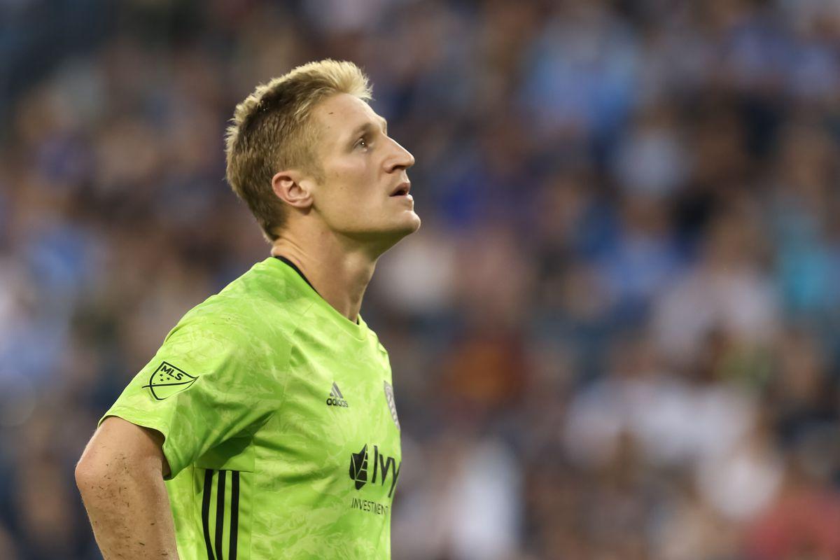 SOCCER: JUL 03 MLS - LAFC at Sporting Kansas City