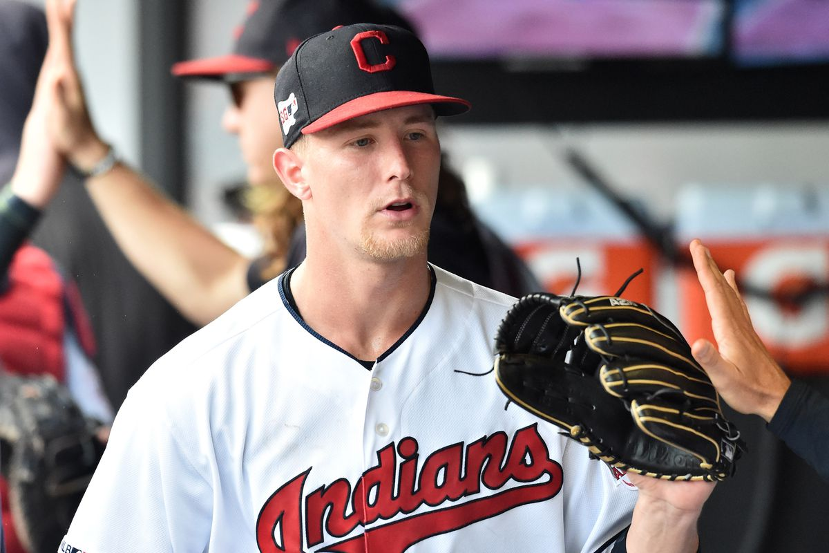 MLB: Game One-Texas Rangers at Cleveland Indians