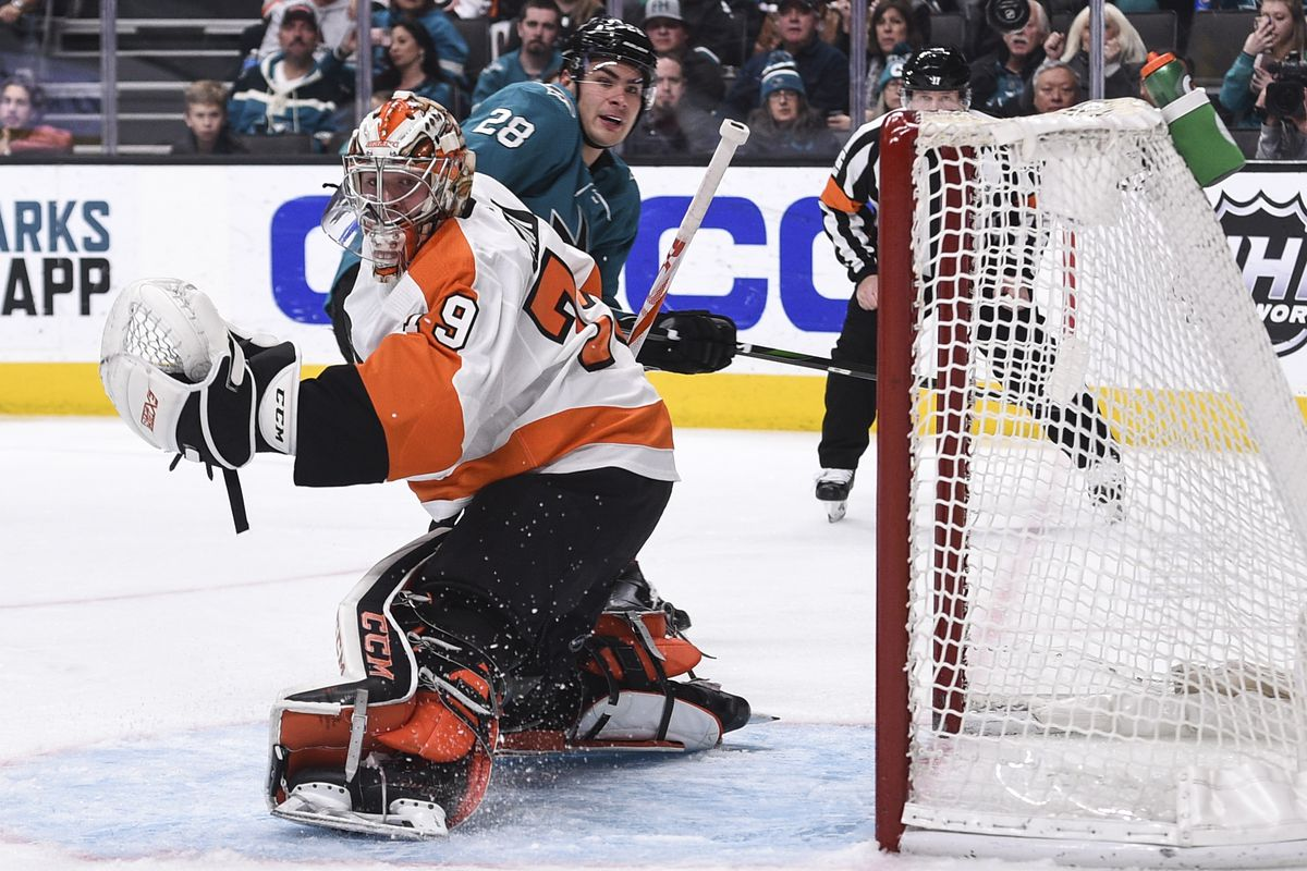 NHL: Philadelphia Flyers at San Jose Sharks