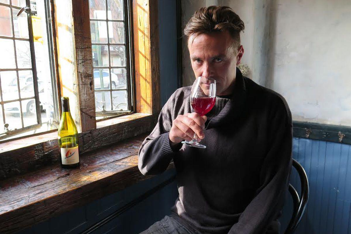 Winemaker Andrea Calek