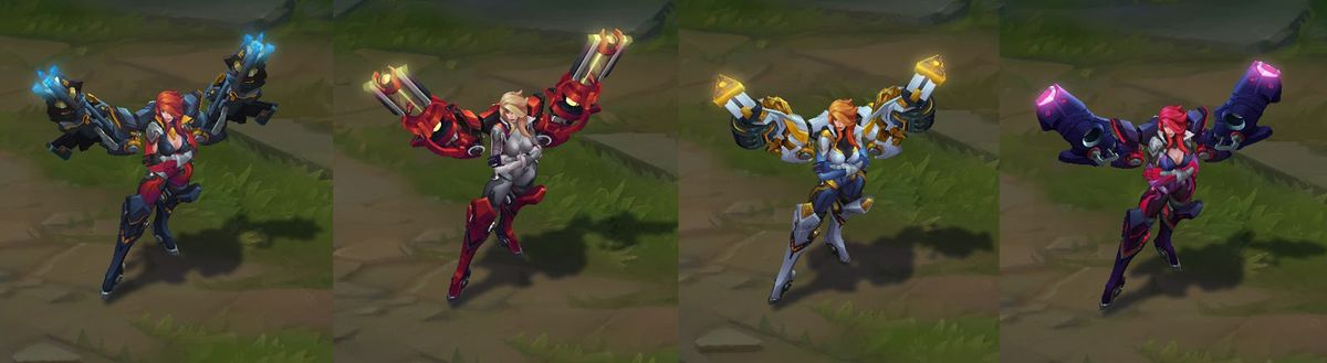 miss fortune all skins