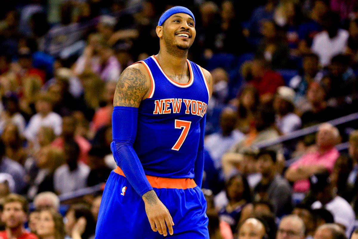 6921e4eec48 Former Syracuse Star Carmelo Anthony Will Play in 2016 Rio Olympics ...