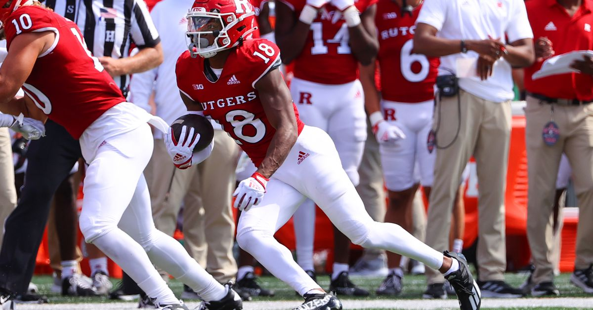 Rutgers to wear special uniforms to honor the anniversary of 9/11 - On The Banks