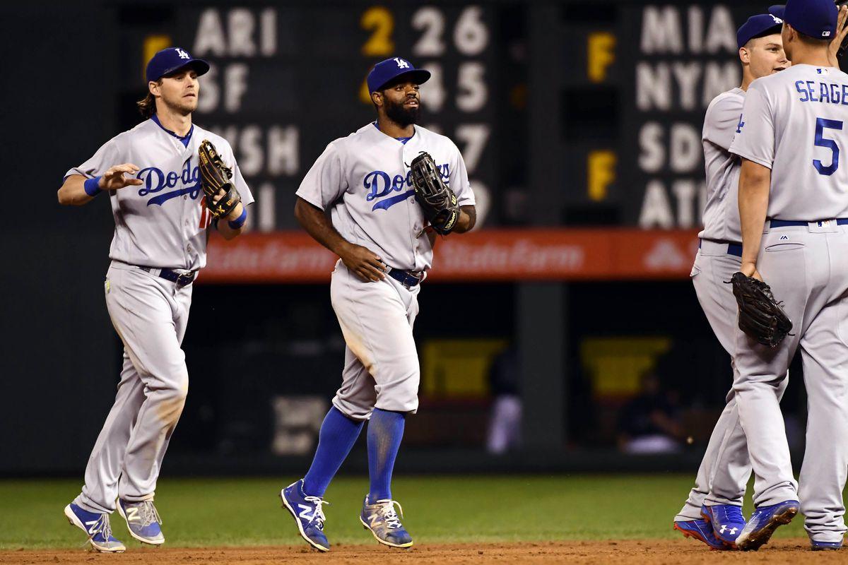 MLB: Game two-Los Angeles Dodgers at Colorado Rockies