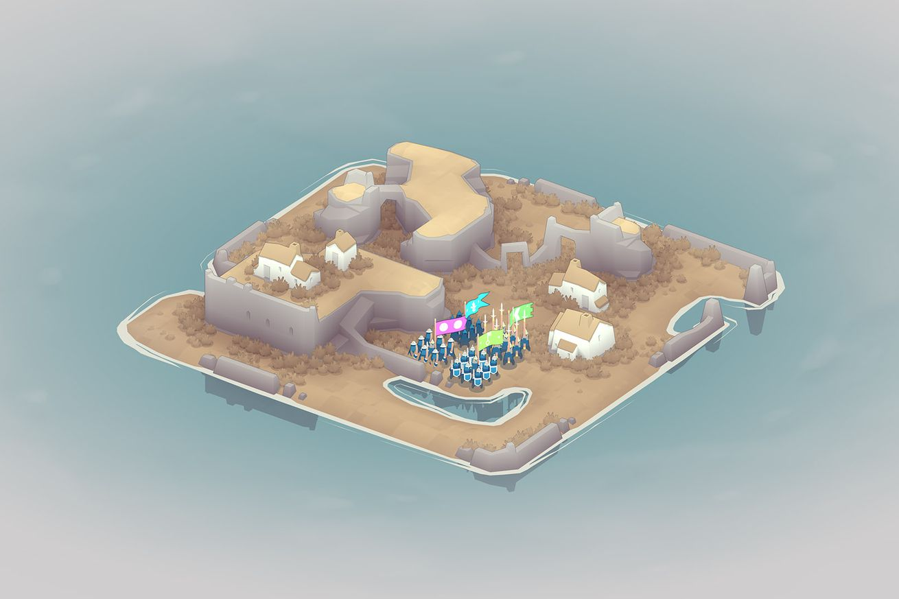 bad north is a scaled down rts that s perfect for the switch